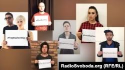 Флешмоб украинских звезд в поддержку ученого Игоря Козловского, которого удерживают в плену боевики группировки «ДНР»