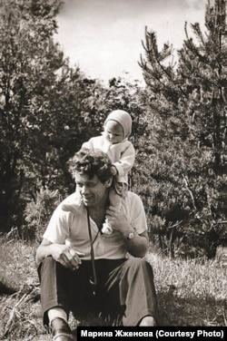 Георгий Жженов с дочерью Мариной