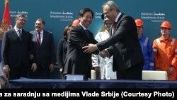 Potpisivanje ugovora o preuzimanju Železare