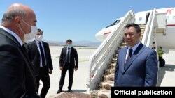 Кыргызстандын президенти Садыр Жапаров Түркмөнстанда.