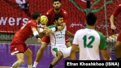 الله کرم استکی، بازیکن تیم ملی هندبال ایران