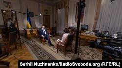 """""""Суботнє інтерв'ю"""" з кабінету голови Верховної Ради"""