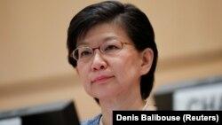 خانم ناکامیتسو هشدار داده است که تمایل به استفاده از سلاحهایی هستهای در حال گسترش است.