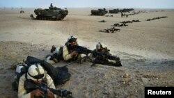 Морпехи США в Ираке, архивное фото