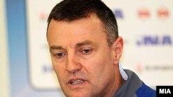 Ивица Обрван, селектор на македонската ракометна репрезентација.