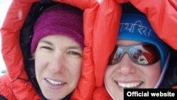 Darija i Iris na Mount Everestu, Foto: vrhovi.com