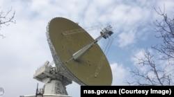 Радіотелескоп РТ-32. Центр космічних досліджень та зв'язку. Злочів, Львівщина