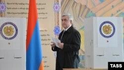 Армян президенти Серж Саргсян
