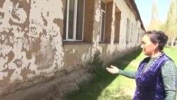 Талас: эски мектеп, бүтпөгөн курулуш