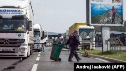 Kamioni na graničnom prelazu Srbije, ilustrativna fotografija