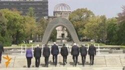 АҚШ Давлат котиби тарихда биринчи маротаба Хиросимага ташриф буюрди