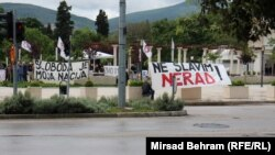Mostarci na Španskom trgu na 1. maj, foto: Mirsad Behram