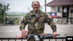 Seperatistët pro-rusë në lindje të Ukrainës