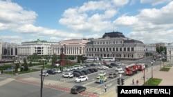 Площадь Свободы в Казани. Архивное фото