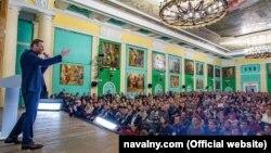Алексей Навальный в Петербурге 2 февраля 2019
