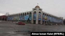 Майрамдын эртеси Бишкектин борбордук аянты жымжырттыкка бөлөндү.