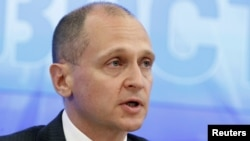 Sergei Kiriyenko, head of the state nuclear monopoly Rosatom