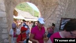 Turisti u Mostaru