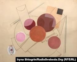Олександр Хвостенко-Хвостов. Ескіз кольорових рухомих площин до опер Вагнера «Валькірія». 1929 рік