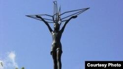 Один из памятников Хиросимы