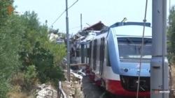 Кілька десятків людей загинуло в результаті лобового зіткнення потягів в Італії (відео)