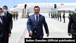 Садыр Жапаров в Туркменистане, 27 июня 2021 г.