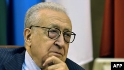 Brahimi will meet with the Syrian president