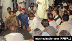 Sindh: Awami National Party senior leader have been killed by Taliban in Karachi. 24NOV2014