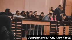 Судебное заседание в тбилисском суде