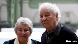 Илья Кабаков с женой Эмилией