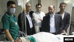 دکتر غلامرضا سرابی، یکی از پزشکان جان باخته