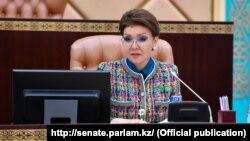 Даріга Назарбаєва, дочка колишнього президента Казахстану Нурсултана Назарбаєва
