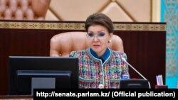 Дарига Назарбаева, дочь экс-президента Казахстана Нурсултана Назарбаева.