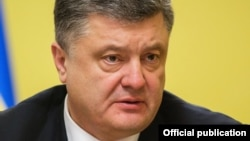 Ukrainian President Petro Poroshenko has signed into law legislation granting special status to areas of eastern Ukraine under rebel control.