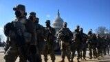 Перед інавгурацією президента Джо Байдена Національній гвардії довелося охороняти Капітолій від можливого насильства. 19 січня 2021 року