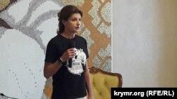 Марина Порошенко на зустрічі з журналістами, 14 червня 2018 р.
