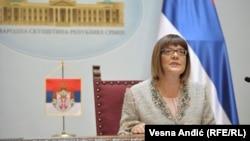 Ja neću voditi tu sednicu: Maja Gojković