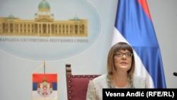 Maja Gojković, predsednica Skupštine Srbije