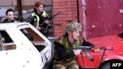 Borbe u sarajevskom naselju Hrasno, ljeto 1992. godine