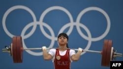 Ауыр атлетикадан 2012 жылғы Лондон олимпиадасының чемпионы Зүлфия Чиншанло.