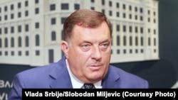 Милорад Додик, президент Республики Сербской в Боснии и Герцеговине