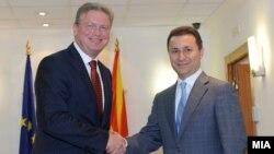 Štefan File sastao se sa premijerom Nikolom Gruevskim, 17. septembar 2012.