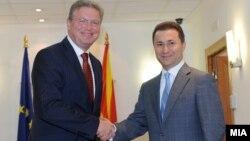 Eврокомесарот за проширување Штефан Филе ја нагласи потребата од одржување на добрососедските односи.