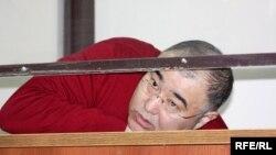 Кәсіпкер Серік Тұржанов сотта отыр. Астана, 25 наурыз 2010 жыл.