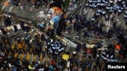 Protestat në Hong Kong, 2014.