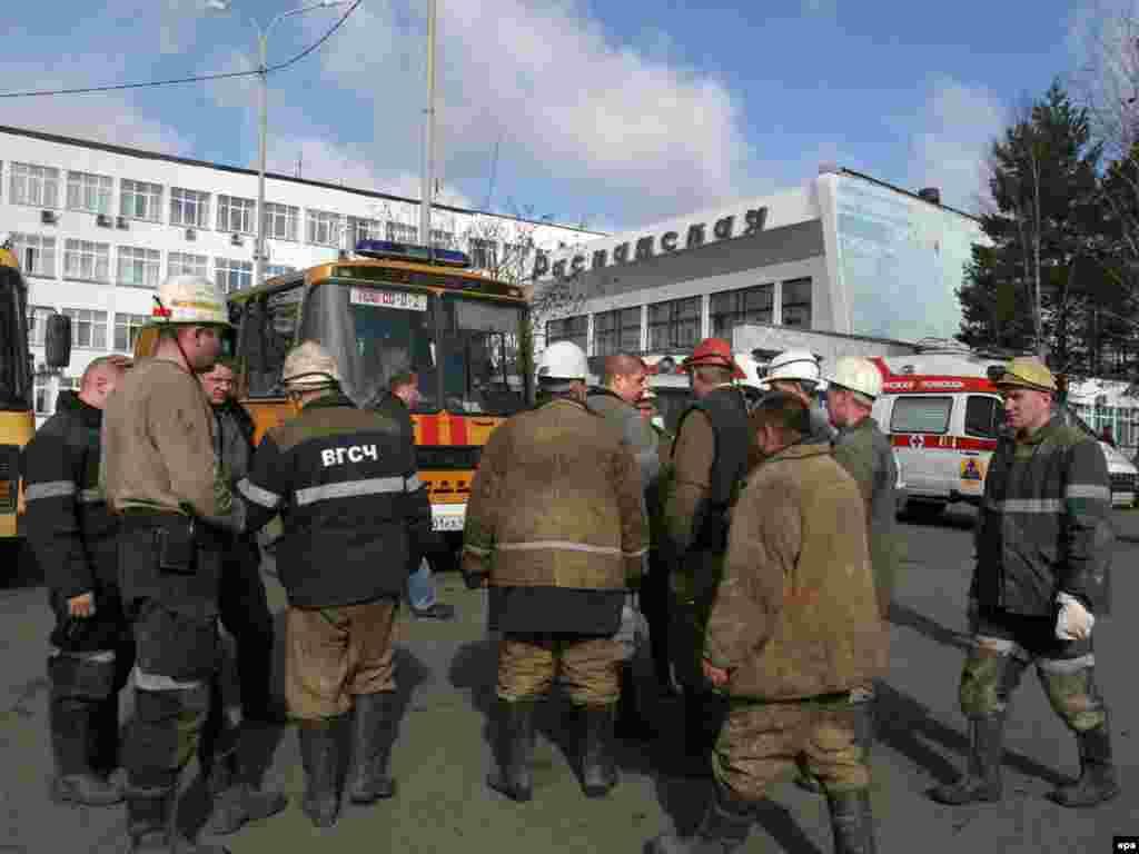 """В ночь на 9 мая 2010 года на шахте """"Распадская"""" в Кемеровской области произошли два взрыва."""