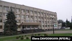 Здание кабинета министров Абхазии в Сухуме