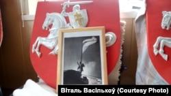 Бел-чырвона-белы сьцяг над Магілёвам (з архіву Віталя Васількова)