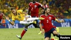 Neymar-ın zədələnməsi