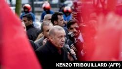 Turski predsednik Redžep Tajip Erdoan u Briselu